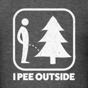 I Pee Outside Sign Shirts | TeezCo™
