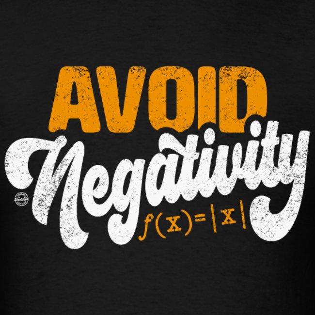 avoid negativity math equation funny math shirts 1