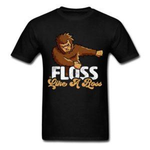 floss like a boss bigfoot