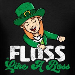 floss like a boss irish leprechaun girl 1