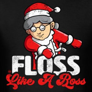 funny christmas floss like a boss mrs santa floss mrs santa shirts 1
