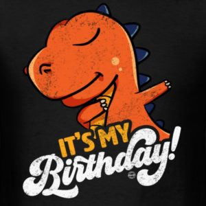 its my birthday cool dabbing dinosaur shirts for men women and kids 1