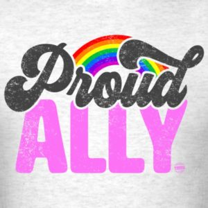 proud ally lgbt rainbow gay pride month shirt 2