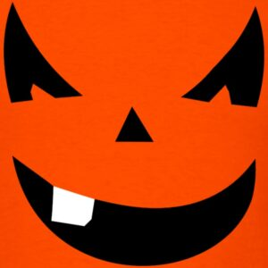 smiling pumpkin face halloween shirts and gifts for men women youth and kids boys and girls