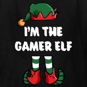 im the gamer elf matching family group funny christmas shirts