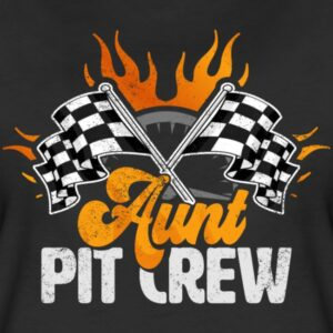 aunt pit crew race car birthday party racing family matching shirts and gifts birthday celebration decoration outfit gift for pit crew family race c