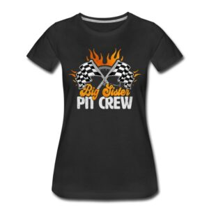 big sister pit crew race car birthday party racing family matching shirts and gifts birthday celebration decoration outfit gift for pit crew family