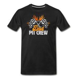 dad pit crew race car birthday party racing family matching shirts and gifts birthday celebration decoration outfit gift for pit crew family race ca