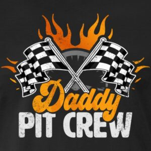 daddy pit crew race car birthday party racing family matching shirts and gifts birthday celebration decoration outfit gift for pit crew family race