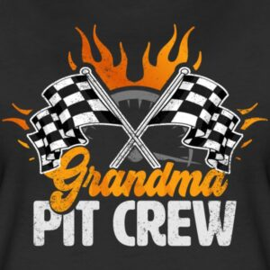 grandma pit crew race car birthday party racing family matching shirts and gifts birthday celebration decoration outfit gift for pit crew family rac